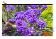 Purple Statice Flower Arrangement Carry-all Pouch
