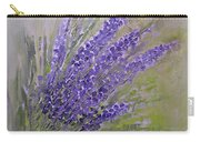 Purple Lavender Summer Carry-all Pouch