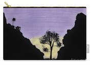 Purple Sunset Drawing Carry-all Pouch