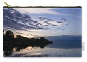 Purple Sunrise Clouds Carry-all Pouch