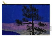 Purple Sunset Bay Carry-all Pouch
