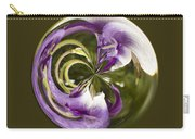 Purple Swirl Orb Carry-all Pouch
