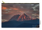 Purple Tantalus Mountain Peaks Carry-all Pouch