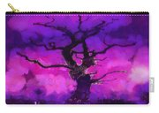 Purple Tree Of Life Carry-all Pouch