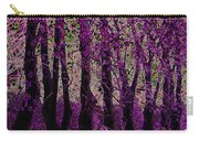 Purple Trees Carry-all Pouch