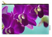 Purple Trio - Orchids Carry-all Pouch