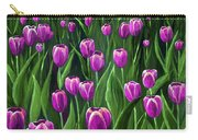 Purple Tulip Field Carry-all Pouch