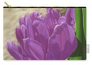 Purple Tulip Carry-all Pouch