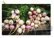 Purple Turnips  Carry-all Pouch