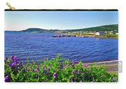 Purple Vetch Overlooking Rocky Harbour-nl Carry-all Pouch
