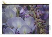 Purple Vine Carry-all Pouch