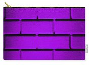 Purple Wall Carry-all Pouch by Semmick Photo