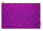 Purple Water Drops On Water-repellent Surface Carry-all Pouch