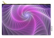 Purple Web Carry-all Pouch