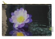 Purple White Yellow Lily Carry-all Pouch