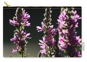 Purple Wild Flowers - 1 Carry-all Pouch