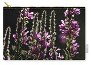 Purple Wild Flowers - 2 Carry-all Pouch