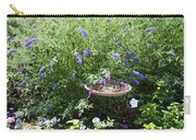 Purple Wild Flowers 1 Carry-all Pouch