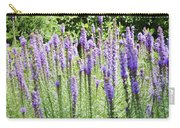 Purple Wild Flowers 2 Carry-all Pouch