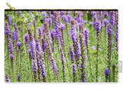 Purple Wild Flowers3 Carry-all Pouch