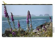 Purple Wildflowers At Netarts Bay Carry-all Pouch