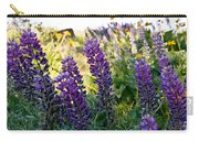Purple Wildlfowers Carry-all Pouch
