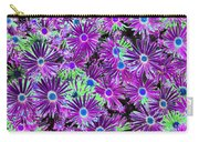 Purplish Posies 02 - Photopower 2934 Carry-all Pouch