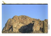 Pusch Ridge With Saguaro Carry-all Pouch