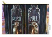Push And Pull Carry-all Pouch