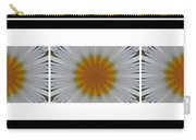 Pushing Up Daisies - Kaleidoscope - Pentaptych Carry-all Pouch