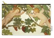 Putti Frolicking In A Vineyard Carry-all Pouch