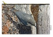 Pygmy Nuthatch At Nest Carry-all Pouch