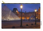 Pyramid At A Museum, Louvre Pyramid Carry-all Pouch