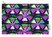 Pyramid Dome Triangle Purple Elegant Digital Graphic Signature   Art  Navinjoshi  Artist Created Ima Carry-all Pouch