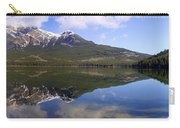 Pyramid Lake Mountain Reflections - Jasper, Alberta Carry-all Pouch