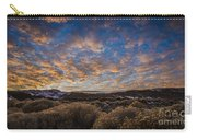 Pyramid Lake Sunset Carry-all Pouch