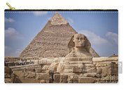 Pyramids And Sphinx In Egypt Carry-all Pouch