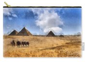 Pyramids Of Giza In Egypt Carry-all Pouch