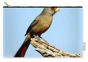 Pyrrhuloxia Cardinalis Sinuatus Female Carry-all Pouch
