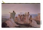 Pythagoreans' Hymn To The Rising Sun Carry-all Pouch