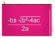Quadratic Equation Carry-all Pouch