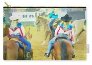 Quadrille Girls Carry-all Pouch