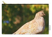 Quail Look Out Carry-all Pouch