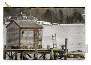 Quaint Fishing Shack New Hampshire Carry-all Pouch
