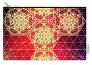 Quantum Cross Hand Drawn Carry-all Pouch