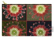 Quatro Floral - 0102cba Carry-all Pouch