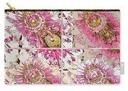 Quatro Floral - 22a Carry-all Pouch