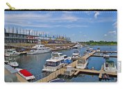 Quays Along Saint Lawrence River In Montreal-qc Carry-all Pouch