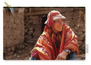Quechua Man Sacred Valley Peru Carry-all Pouch