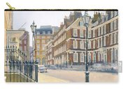 Queen Annes Gate Oil On Canvas Carry-all Pouch